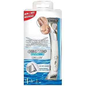 Wilkinson - Quattro Titanium Body - Rasoir pour Homme
