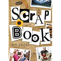 Jumbo Scrapbooks 64 Page Extra Large Coloured Pages 350x250mm - Twin Pack