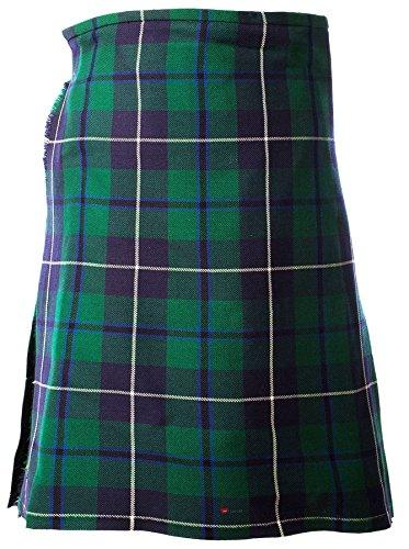 I Luv Ltd Gents Scottish Kilt Full 8 Yard 24in Drop Waist 28-30 Colour Douglas Tartan