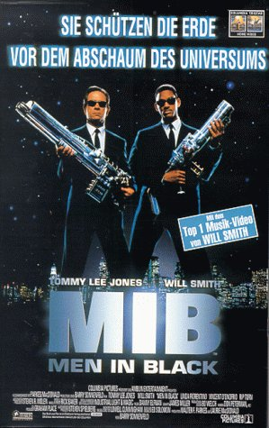 AVU Men in Black [VHS]