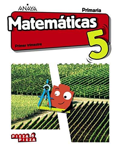 Matemáticas 5 (Incluye Taller de Resolución de problemas) (Pieza a Pieza)