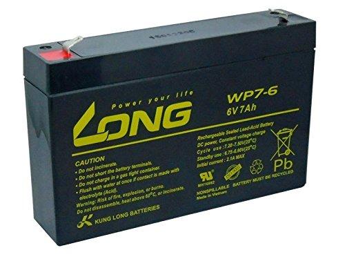 Akku Batterie 3-FM-7 20HR 3 FM 7 3FM7 6V 7Ah AGM Blei Gel wie 7,2Ah 7.2Ah 7Ah 7,0Ah 8Ah kompatibel