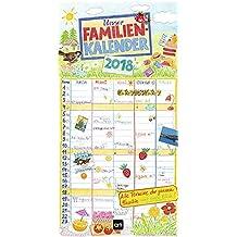 Kohwagner – Familienplaner 2018: Jahreskalender