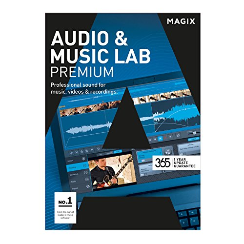 MAGIX Audio & Music Lab – 2017 Premium – Audiobearbeitung perfektioniert. Videoton revolutioniert. [Download]