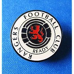 Fútbol Cresta Rangers Pin Escudo oficial del club de fans idea de regalo Mercancías