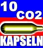 10 Stück Bierkapseln Bier Kapseln CO2 für BierMaxx Zapfprofi