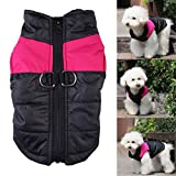 TankerStreet Dog Coats for Small Dogs Pink Girl,...