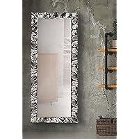 Homezone anticata argento Angel Wings specchio da parete vintage ...