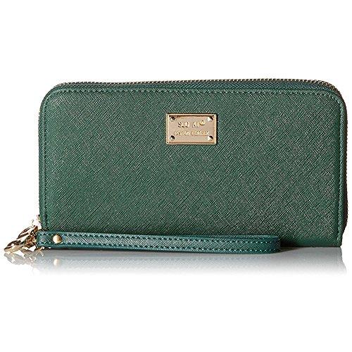HuifendS , Portafogli , Green (verde) - HF02-0001-Green Rose Black
