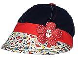 GD Girl's Sun Hat (Navy Blue,1-3yrs )