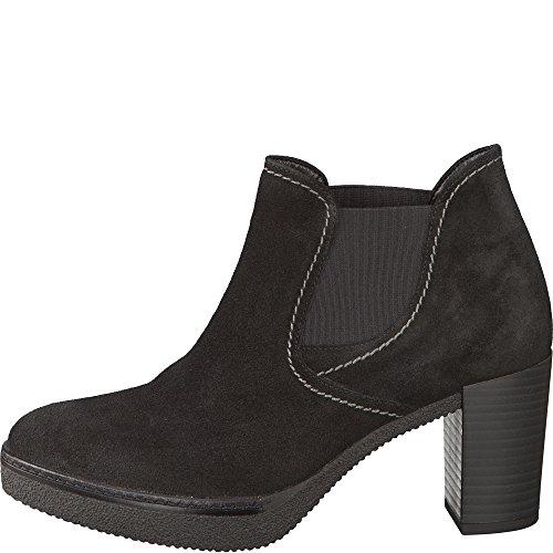 GABOR comfort - Damen Stiefeletten - Schwarz Schuhe in Übergrößen Schwarz