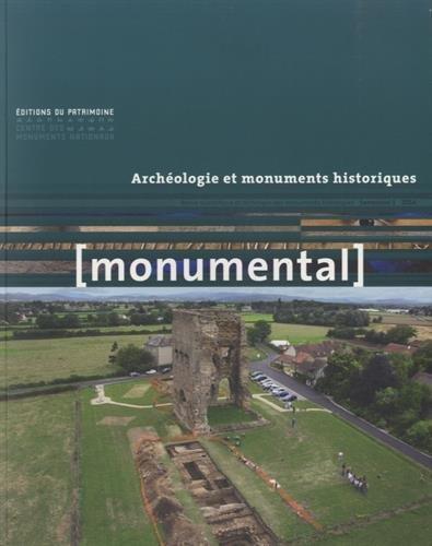 Monumental 2014-1 - Archéologie et monuments histo par Collectif