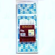 640 Cartones Bingo BINVI + 10 rotuladores