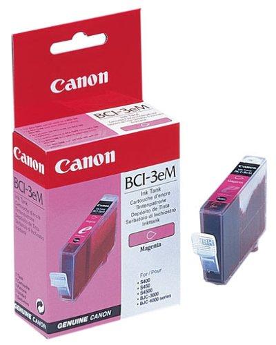 Canon BCI-3e M original Tintenpatrone  Magenta für Pixma Inkjet Drucker iP3000-iP4000-iP4000R-iP5000 - Canon Bci-3 Inkjet-patrone