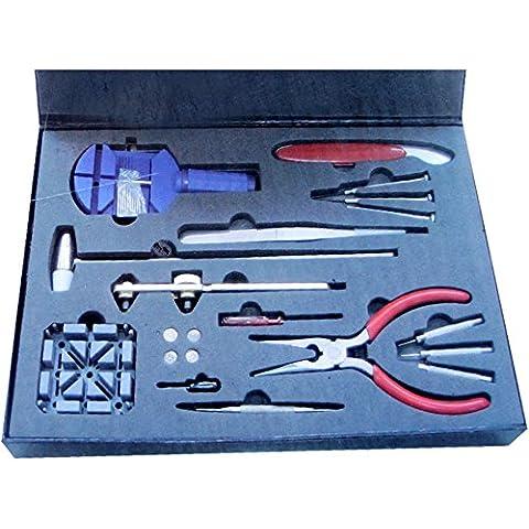 Generic qy-uk4–16Feb-20–804* 1* * 2704* * FamilyMall juego PC Watc reloj reparación herramienta Kit Nuevo 20P nuevo 20PC R herramienta batería de repuesto acement Fix muñeca ttery