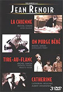 Coffret Jean Renoir 3 DVD : La Chienne / Tire au flanc / On purge Bébé / Catherine