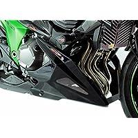 Zapata de motor de malla plateada efecto carbono para Kawasaki Z80013-15