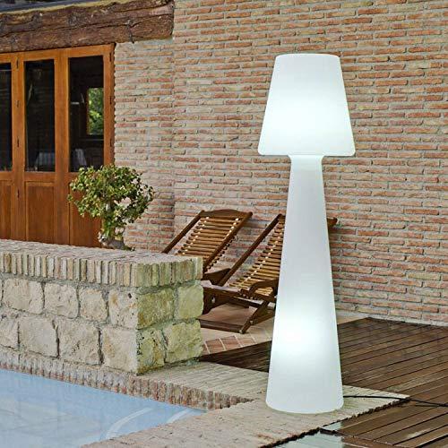 LOLA - Lampadaire d'extérieur H 165cm Blanc New Garden