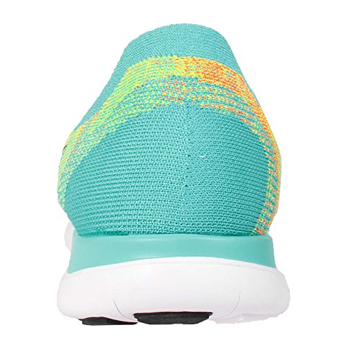 Nike - Free 4.0 Flyknit, pantofole da uomo Hyper Jade/Black/Volt/Electric Green 300