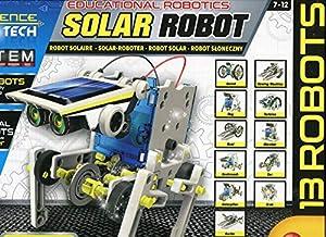 Lisciani Robot Solar CONSTRUCCIONES - Multirobot 14 Modelos Energía Solar/MOUVEMENT-73252, 73252