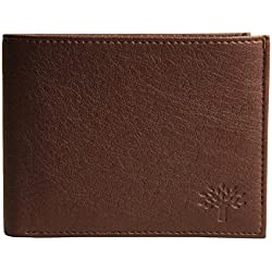 Woodland Genuine Leather Men's Wallet ( Brown Color)