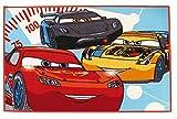 FUN HOUSE - 712361 - Ameublement Et Décoration - Cars Ice Racing - Tapis 80 X 120 Cm
