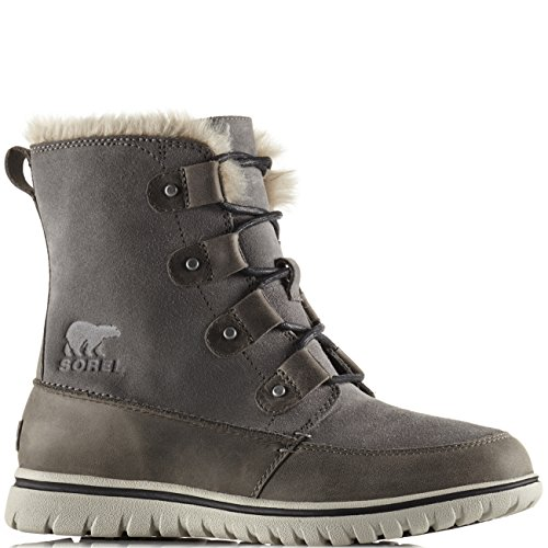 Sorel Womens Cozy Joan Winter Rain Waterproof Snow Hiking Ankle Boots -  Quarry - 8