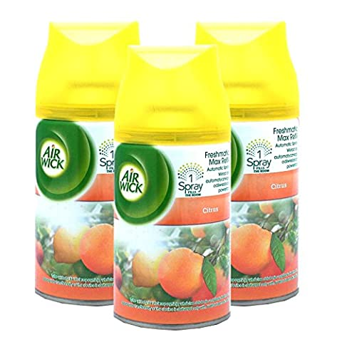 3 x Air Wick Freshmatic Max Refills 250ml -