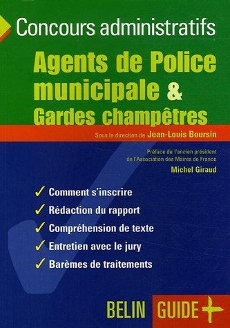 Agents de Police municipale & Gardes champêtres