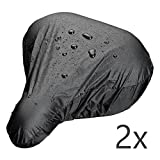 ECENCE 2x bicycle saddle rain cover waterproof bicycle sa saddle rain cover waterproof