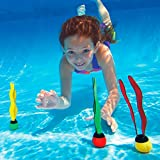 Enlarge toy image: INTEX Underwater Swimming/Diving Pool Toy Sinking Fun Balls (3 Pack)-Multi color