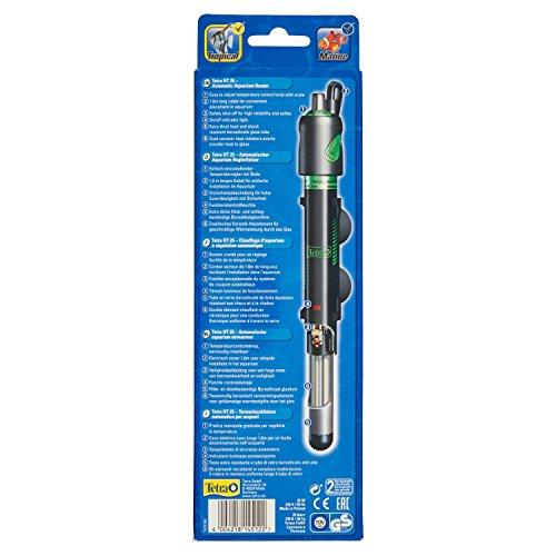 Tetra HT 25 Reglerheizer (leistungsstarker Aquarienheizer zur Abdeckung unterschiedlicher Leistungsstufen mit Temperatureinstellknopf, Heizvorrichtung für Aquarien von 10 bis 25 Liter) - 3