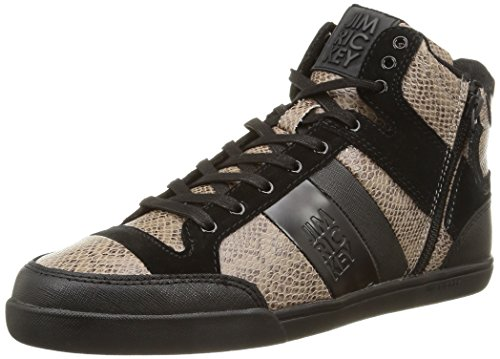 Jim Rickey - Carve Mid Z, Sneakers da uomo, nero (snake black), 44