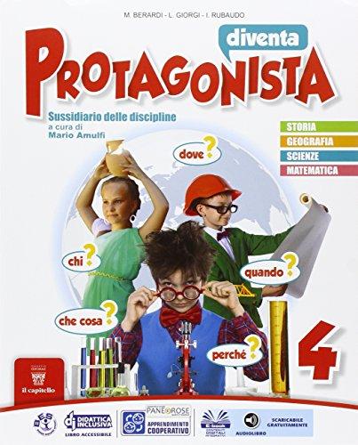 Diventa protagonista. Per la 4 classe elementare. Con e-book. Con espansione online: 1