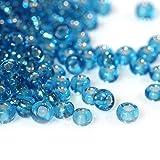 Pléiades Création Lote de 1000 Perlas de rocalla Turquesa Ø 2 mm 10/0 – Creación Bijoux