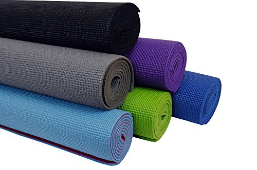 Aurion-1212-Rubber-Yoga-Mat-6mm-assorted-color