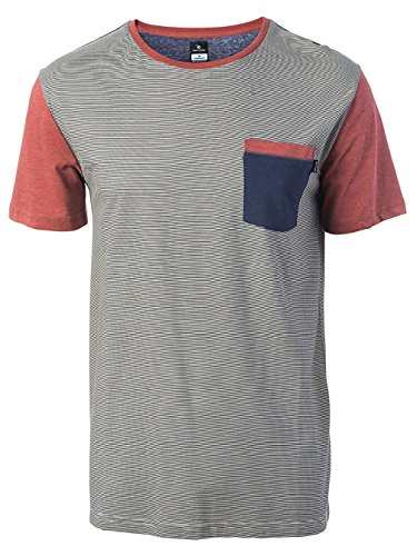 Rip Curl Herren Original T-Shirt Light Grey