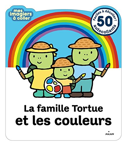 La famille Tortue et les couleurs
