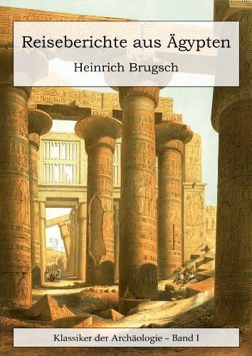 Buchseite und Rezensionen zu 'Reiseberichte aus Ägypten' von Heinrich Brugsch