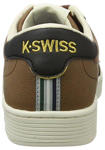 K-swiss Hoke Cmf, Baskets Basses Pour Homme (mustang / Écru / Noir)