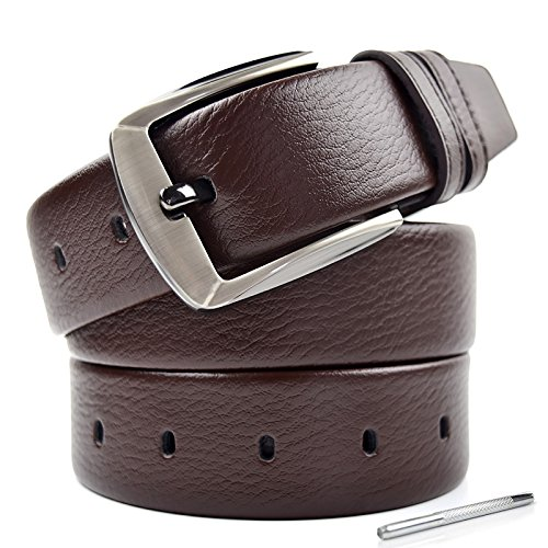 mens-genuine-belt-leather-reversible-belts-for-men-in-brown-with-pin-buckle-casual-jeans-style-belt-