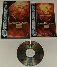 Defcon 5 - Sega Saturn - PAL