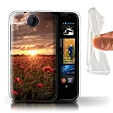 STUFF4Phone case/cover/Skin/htc-gc/jm-pps Collection, Sun Flare/Glare, HTC Desire 310
