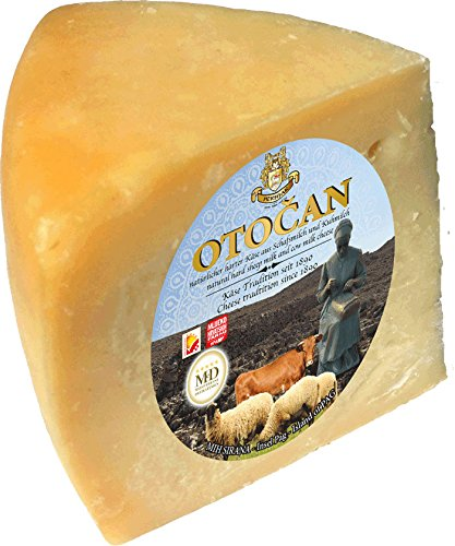 Preisvergleich Produktbild Pager Käse OTOAN min 300g - halbharter Mischkäse mit Meersalz aus der Saline von Pag
