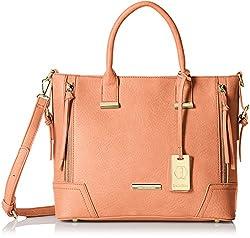 Stella Ricci Womens Shoulder Bag (Peach) (SR159HPEA)