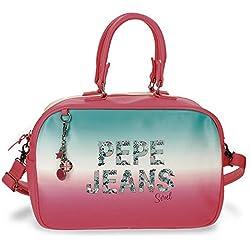 Pepe Jeans Nicole Bolsa de Viaje, 37 cm, 13.88 litros