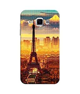 Sketchfab Eifile Tower In Sunset Latest Design High Quality Printed Designer Back Case Cover For Samsung Galaxy J3