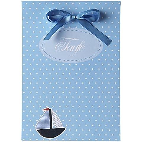 15tarjetas de invitación para bautismo–Set de tarjetas Bautizo Boaty–Todo Incluye: invitaciones, danksagungen, tarjetas de mesa–para facilitar Incluso de Imprimir