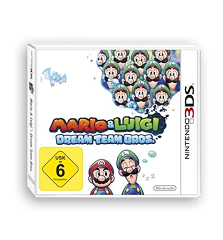 Mario Et Luigi Dream Team Bros 3ds - Mario & Luigi : Dream Team Bros