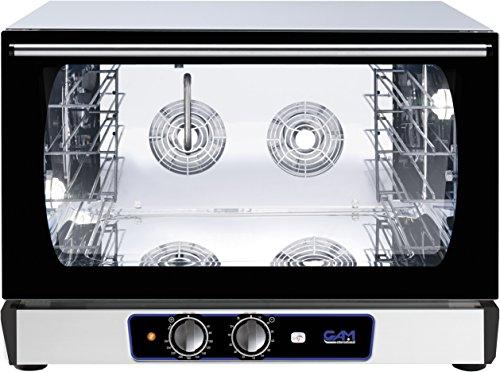 GAM Gastro Heißluftofen Kombidämpfer Dampfgarer T04M 4X 60x40 cm 230 Volt Wassereinspritzung 3400 Watt ***NEU***